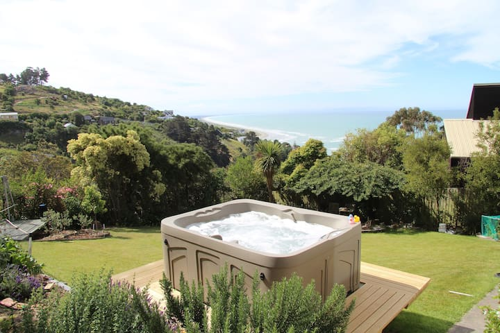 Garden Studio with ocean views - Christchurch - Wikt i opierunek
