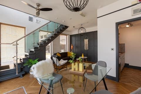 Accommodation @ 32,contemporary duplex apartment