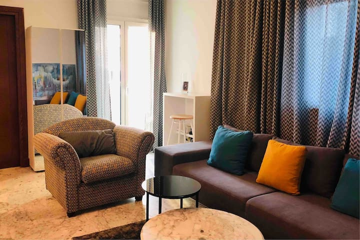Cosy apartment in front of Tunisia Mall Lac2