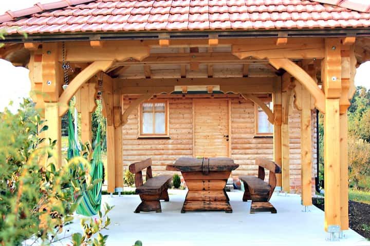 Off Grid Traditional Croatian Cabins with Sauna