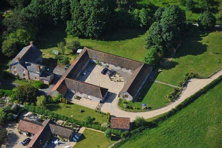 Stylish barn in peaceful part of Somerset