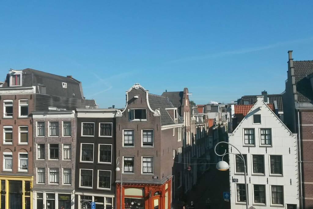 Elandsgracht, view from the living room