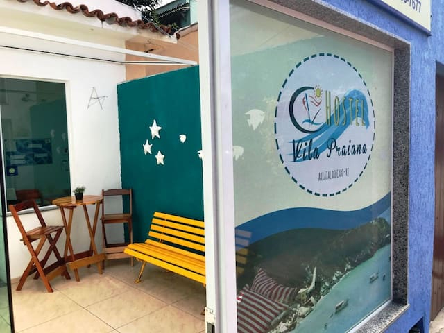 Hostel Vila Praiana em Arraial do Cabo