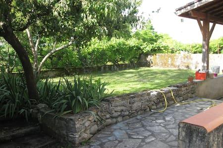 Maison en centre ville avec jardin