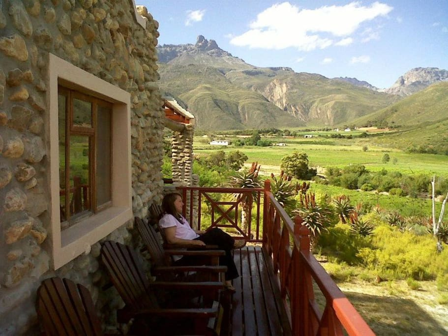 View from the Chenin Blanc Cottage