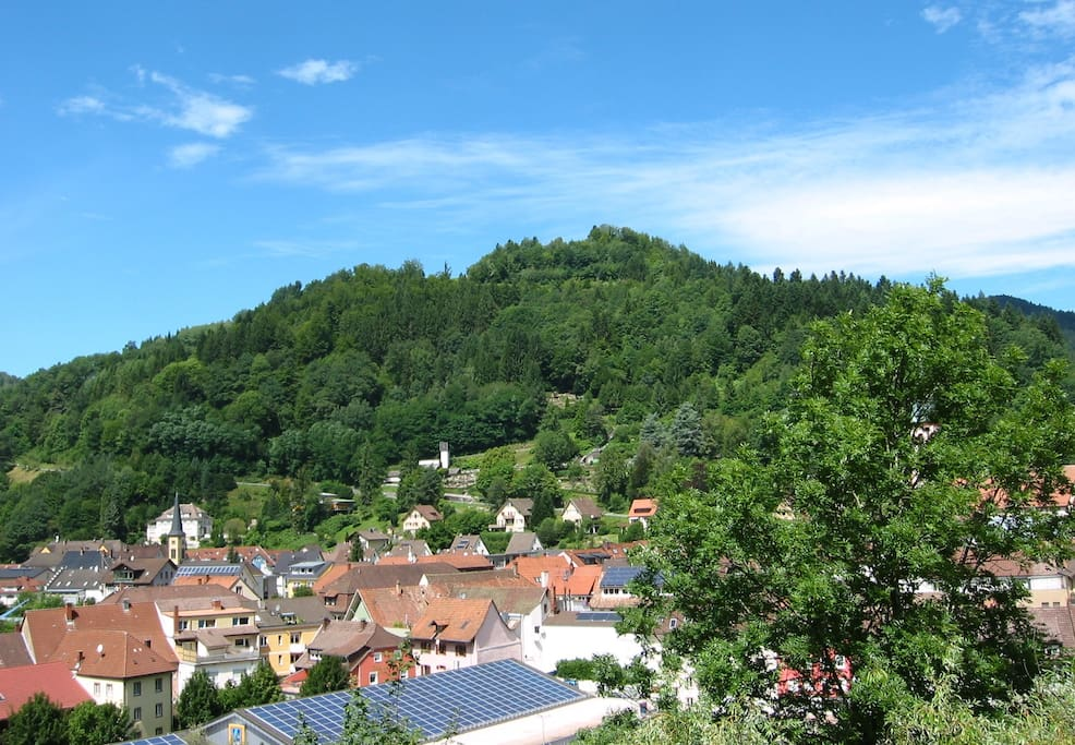 Blick aus dem Fenster / View from the window