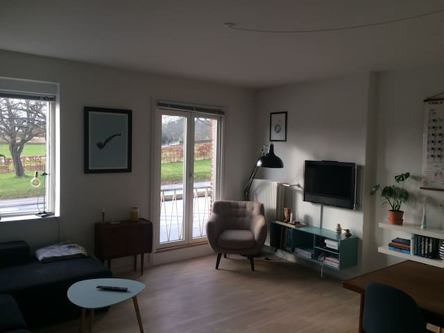 Central apartment overlooking the botanical garden - Aarhus - Apartment