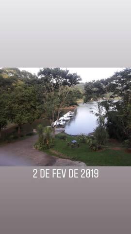Chalé na represa Atibainha