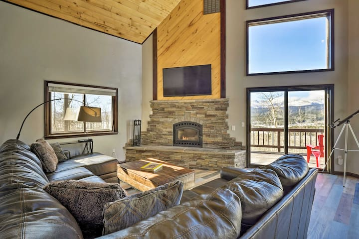 Large Fairplay Cabin w/Incredible Views near Breck