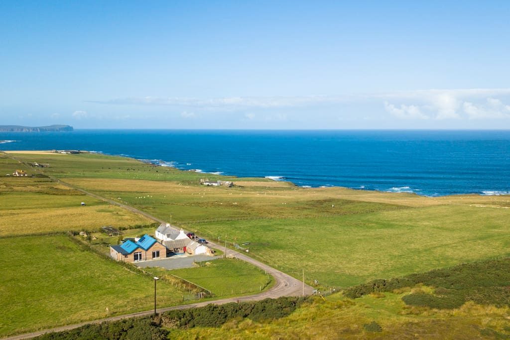 Our location is stunning, with views over to Dunnet Head and Orkney.