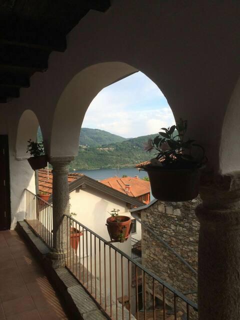 Casa Clerici - Ca' del merican - blue room