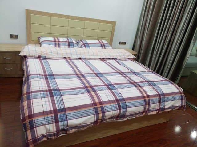 如家民宿温馨大床房