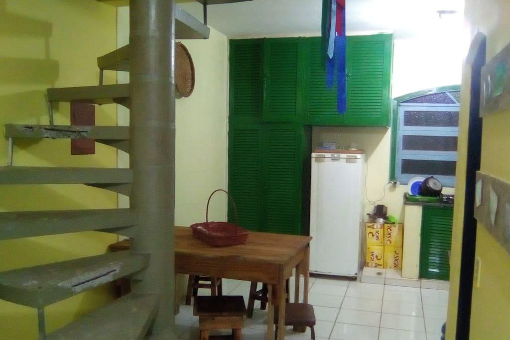 Cozinha(Visão da sala)