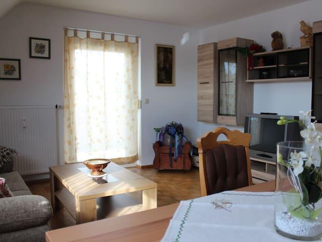 Ferienwohnung Haus Bregtal, (Donaueschingen-Wolterdingen), Ferienwohnung 65qm, 1 Schlafzimmer, max. 2 Personen