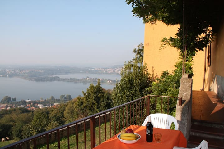 Appartamento con 1 camera e balcone - Galbiate - Daire