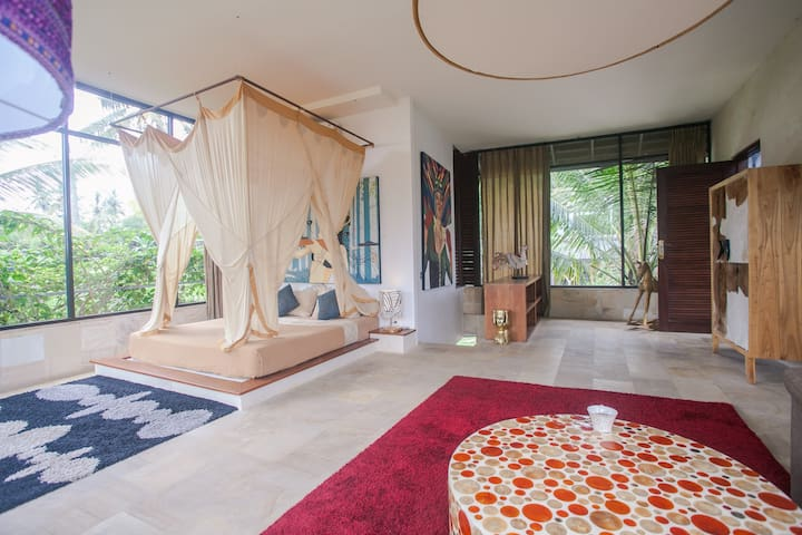 -40% last minute Amazing Suite in a Great Villa - Ubud - Pis