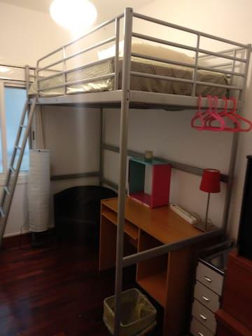 Habitación completa individual, ideal relax