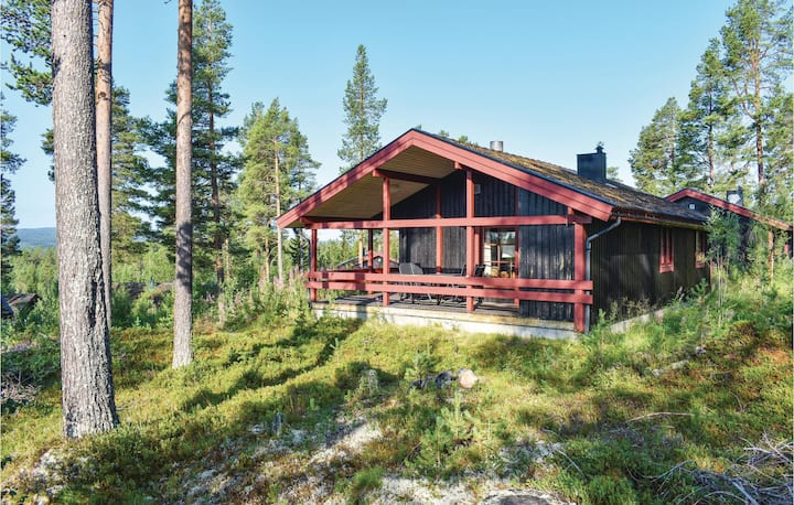 Beautiful home in Lofsdalen with Sauna and 3 Bedrooms