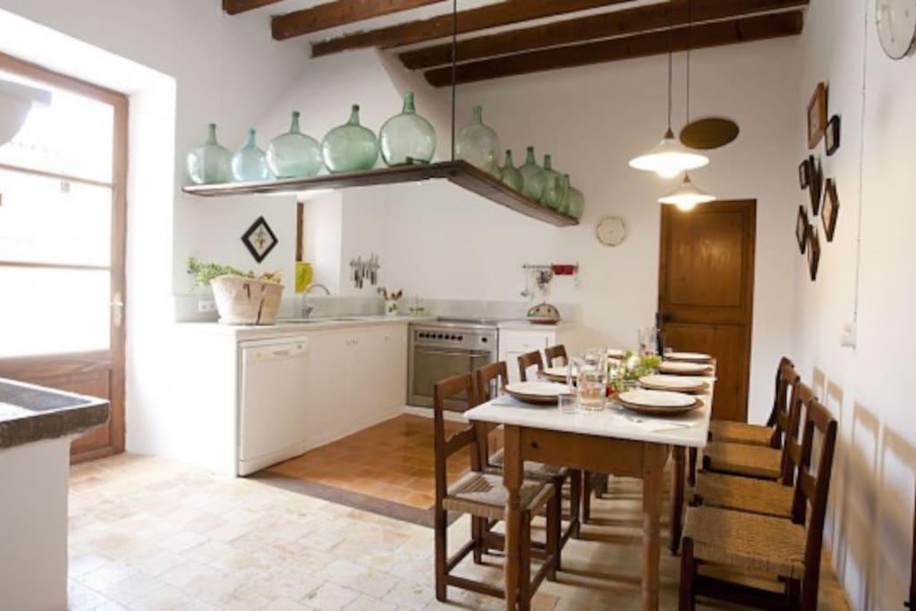 Komfortable Küche