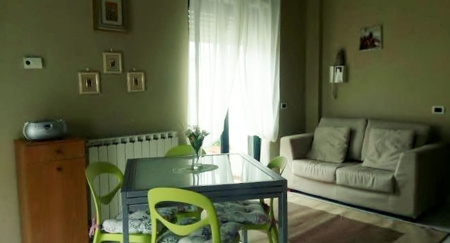 Graziosa mansarda con terrazzo