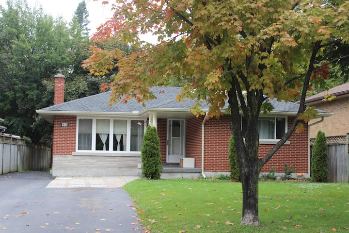 Spacious 3 Bedroom Kitchener Home Near Highways