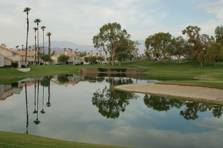 Desert Falls CC luxury #1 view on golf course!