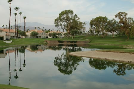 Desert Falls CC luxury #1 view on golf course!