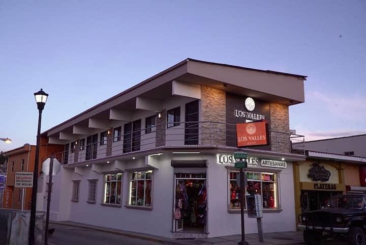 Los Valles Hotel centro de Creel Pueblo Mágico