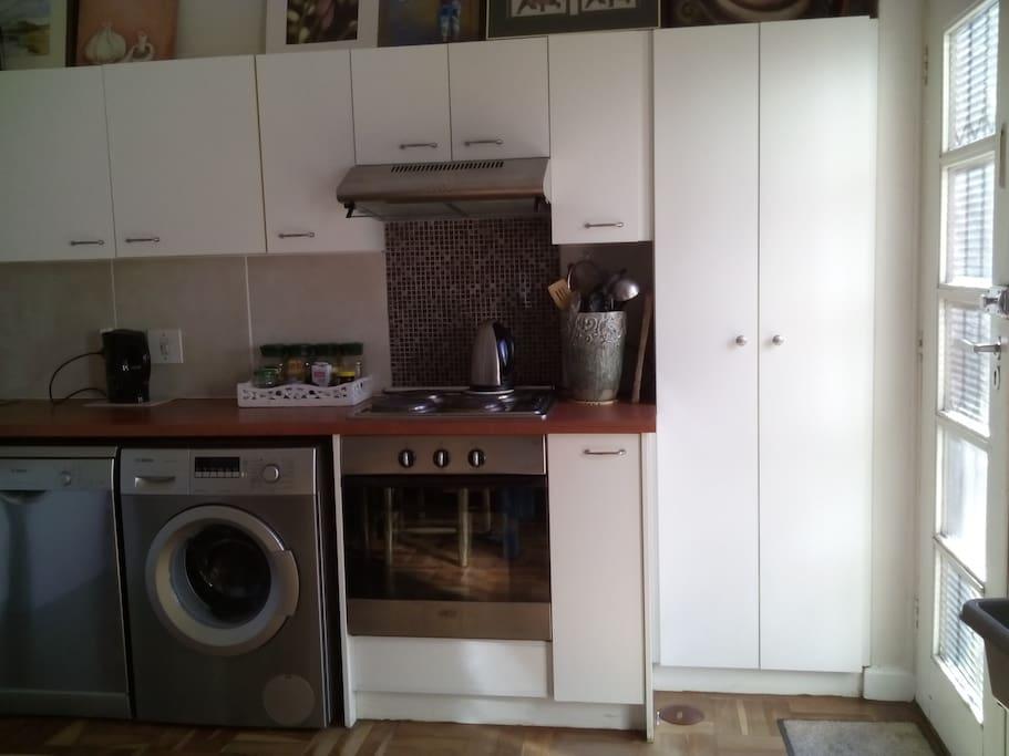 Dishwasher and Washing Machine.