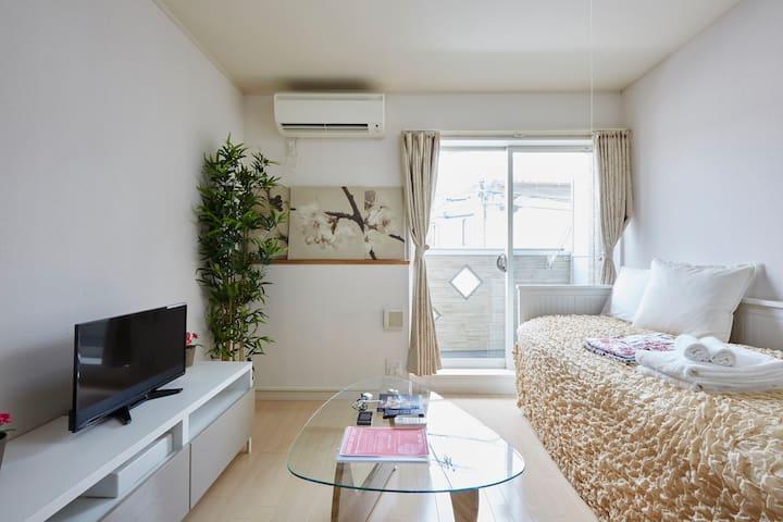 Free WIFI2min Shinjuku!New&Cozy/ Samurai I9 - Shinjuku-ku - Apartment