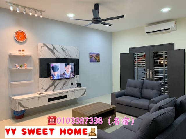 YY SWEET HOME 甜蜜之屋(AYER TAWAR 爱大华)home stay