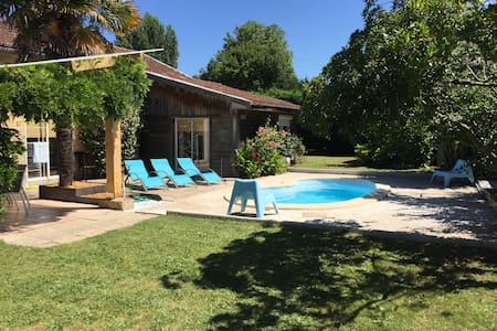 Villa de vacances avec piscine - Carcans - House