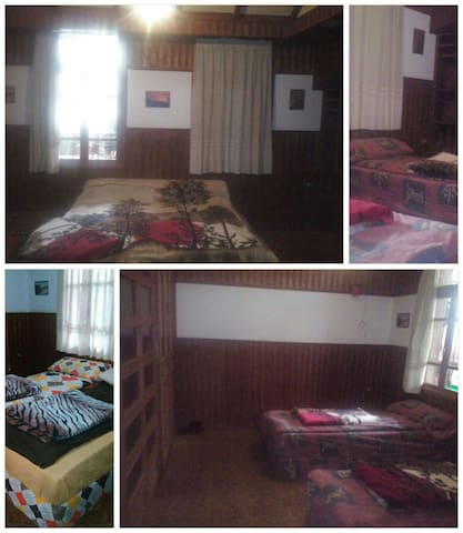 Double, triple room,shared bathroom - Bcharre - 公寓