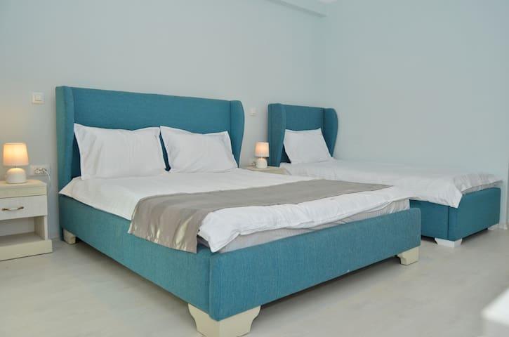 Triple Room Mykonos mamaia nord boutique villa - Mamaia-Sat