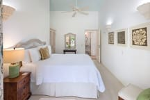 The Comfortable Lily Bedroom with air conditioning.
