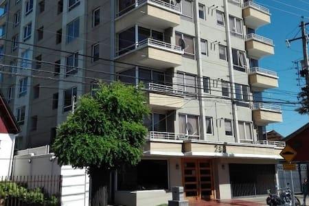 Dept. Centr 2 dorm amoblado edificio Doña Javiera. - Los Angeles - Huoneisto