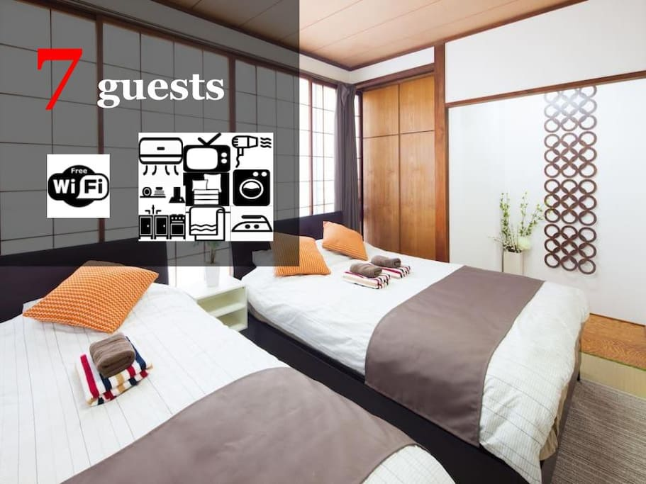 Up to 7 guests available