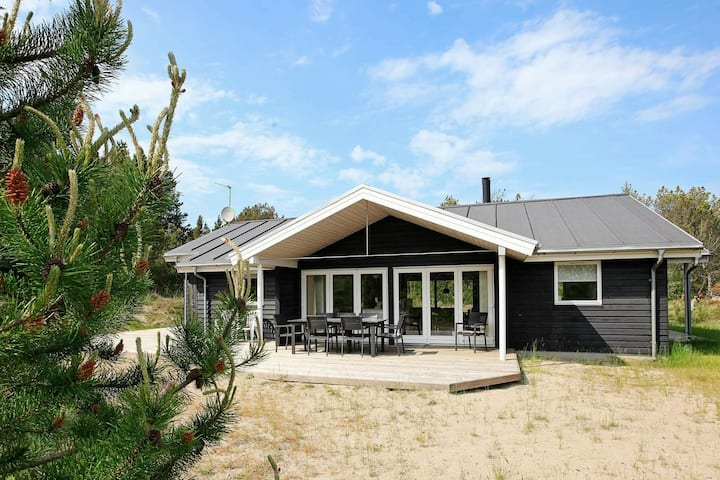 Stylish Holiday Home in Ålbæk with Sauna