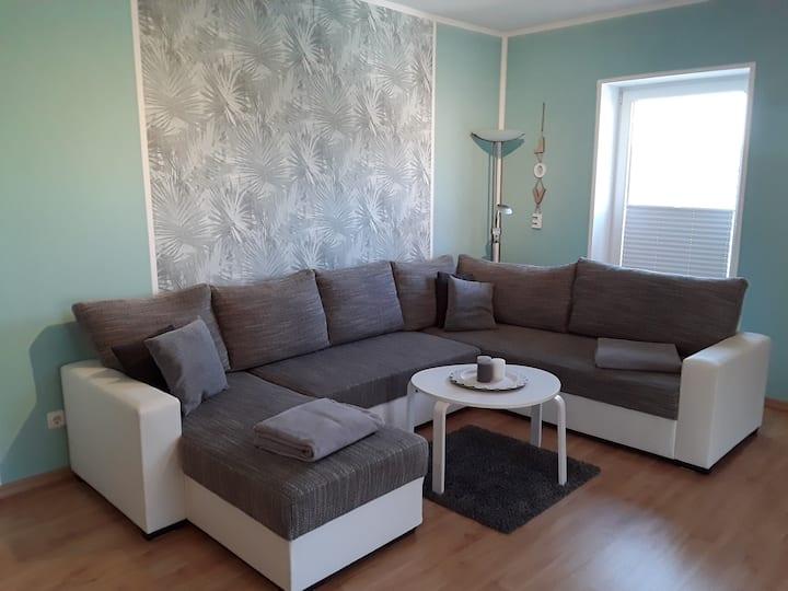 Ferienwohnungen am Osterberg (Liebenau-Ersen) -, FeWo 1, 139qm, 2 Schlafzimmer, max. 6 Personen