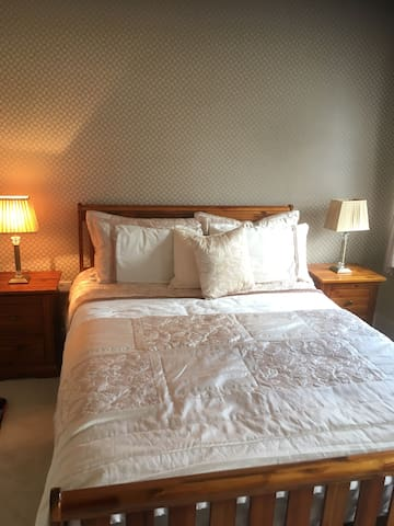 2 x Private double rooms and 1 x twin room.