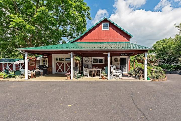 Barn cottage at River Rose