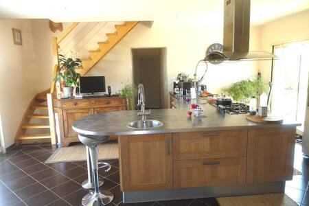 Maison contemporaine - Saint-André-d'Allas
