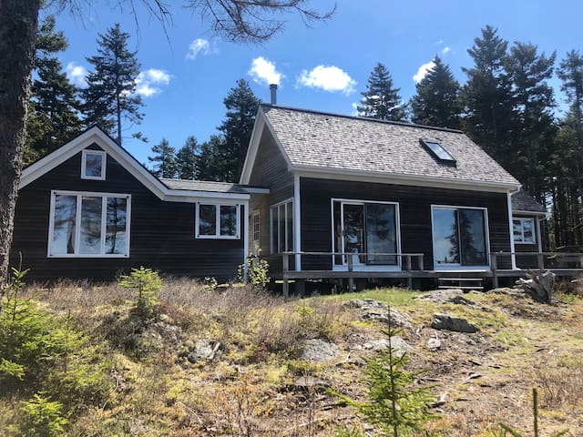 High above it all with spectacular views of Penobscot Bay-Osprey Nest