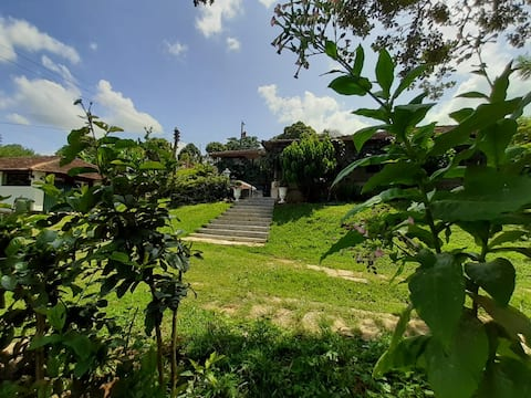 Casa de campo - descanso na natureza Sítio d'Pezzo
