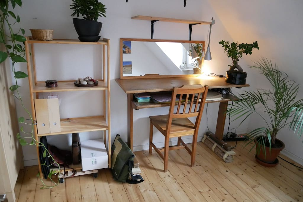 Working space in your room