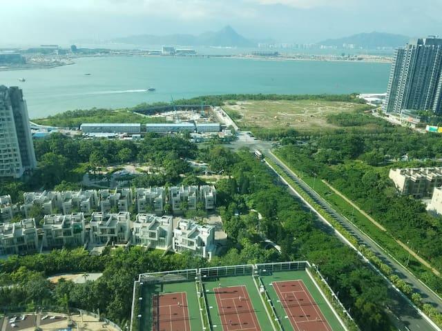 3BHK Apt near airport, 45 mins from Hong kong