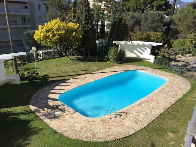 cozy appartment MONT BORON + pool - Niza - Apto. en complejo residencial