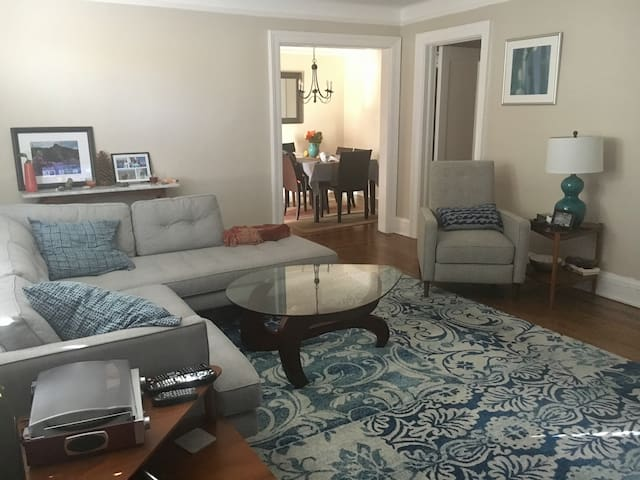 Spacious Apartment in Bronxville w/ King Bed - Yonkers - Apartamento