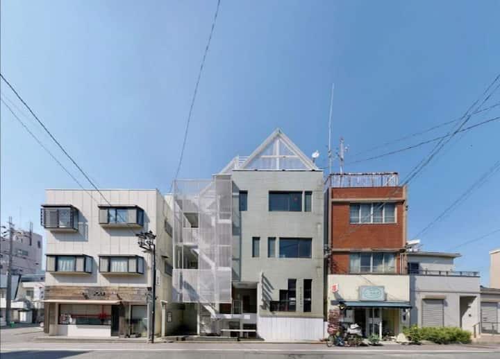 名鉄本笠寺駅から徒歩1分、静かな歴史があり街