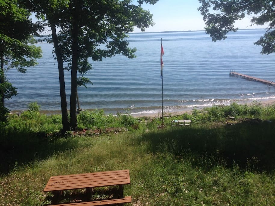 Lake View from Beach House